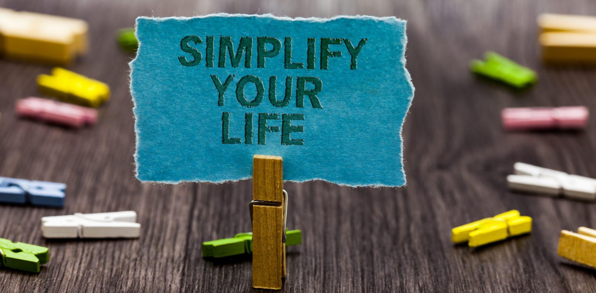Nous voulons vous aider à simplifier votre travail